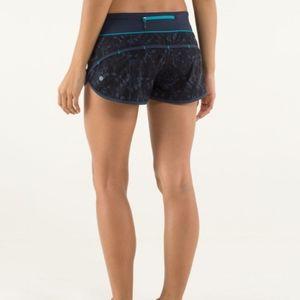 lululemon athletica Shorts - Lululemon Speed Shorts 4-way Baroque Inkwell
